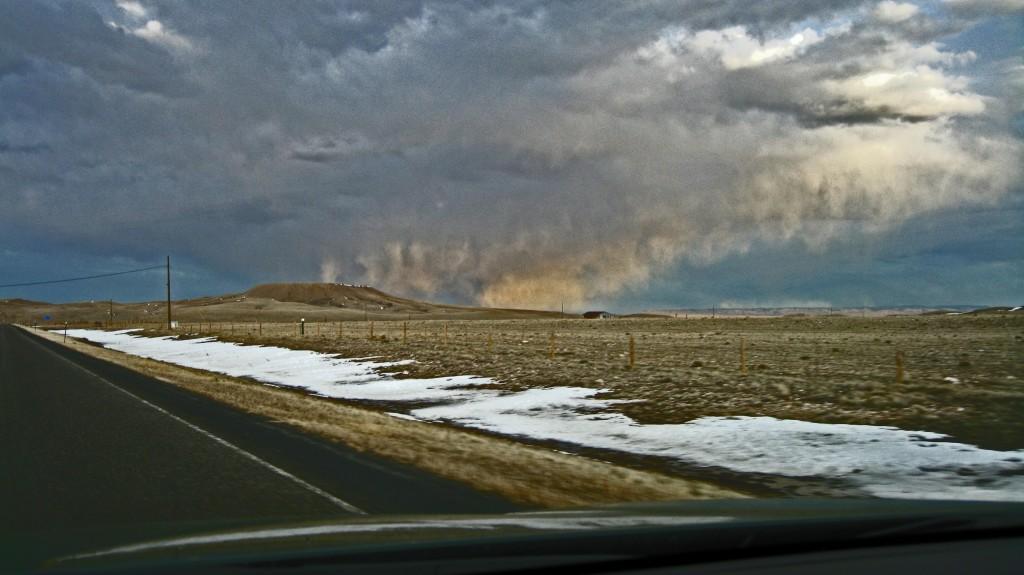 Storm Near Laramie