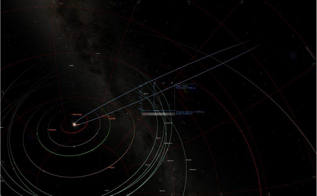 Dark Comet Approaching