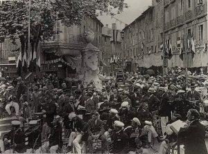 1922. Inauguration of Pascal Fountain